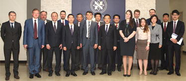 Director of the Department of Science, Technology and Education of the Government of the Russian Federation Visits NARS'