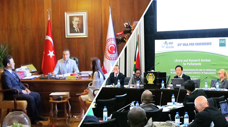 The Chief of the National Assembly Research Service Attends the IFLA, and Meets the Vice-Speaker of the Grand National Assembly in Turkey