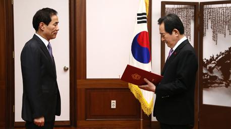 제6대 이내영 국회입법조사처장 취임 사진
