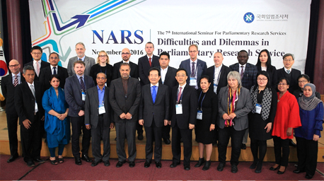 NARS Successfully Holds the 7th International Seminar for Parliamentary Research Services
