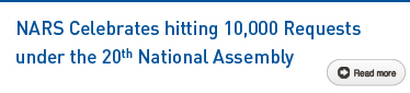 NARS Celebrates hitting 10,000 Requests under the 20th National Assembly Read more