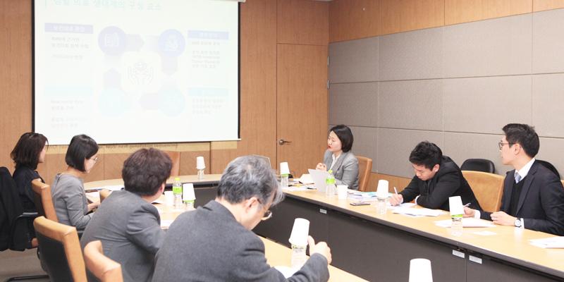 「정밀의료발전특별법」제정을 위한 전문가 간담회 개최 사진