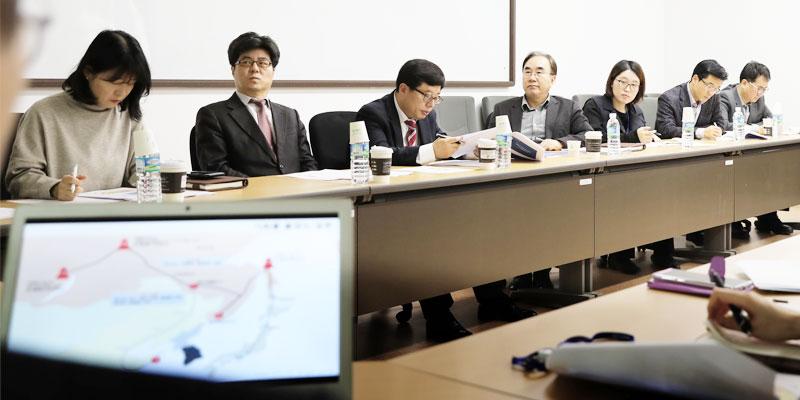 「2020년 미·중·일·러·EU·북한의 대외정책 방향과 우리의 대응방향」연속 간담회 개최 사진