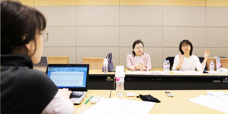 「학교 밖 청소년 지원사업의 현황 및 개선과제」 전문가 간담회 개최 사진
