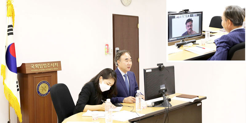 Chief of NARS Gives Online Lecture at 'Global Youth Intensive Program'  of the World Congress of Constitutional Law""