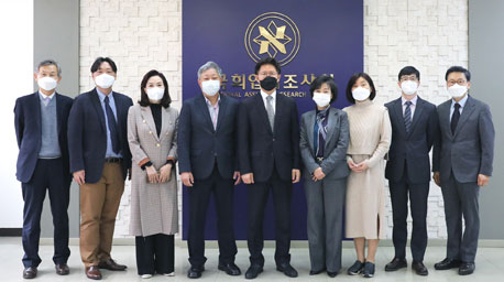 국회입법조사처 조직진단위원회 위촉장 수여식 사진