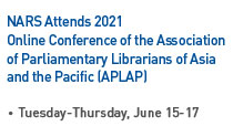 NARS Attends 2021 Online Conference of the Association of Parliamentary Librarians of Asia and the Pacific (APLAP) Read more